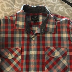 J Crew Heavy Button Down Flannel
